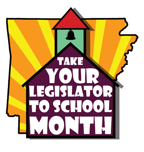 Take Your Legislator to School Month