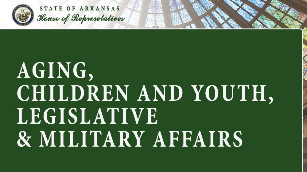 Aging, Children and Youth, Legislative & Military Affairs