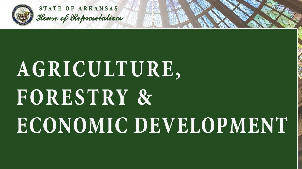 Agriculture, Forestry & Economic Development