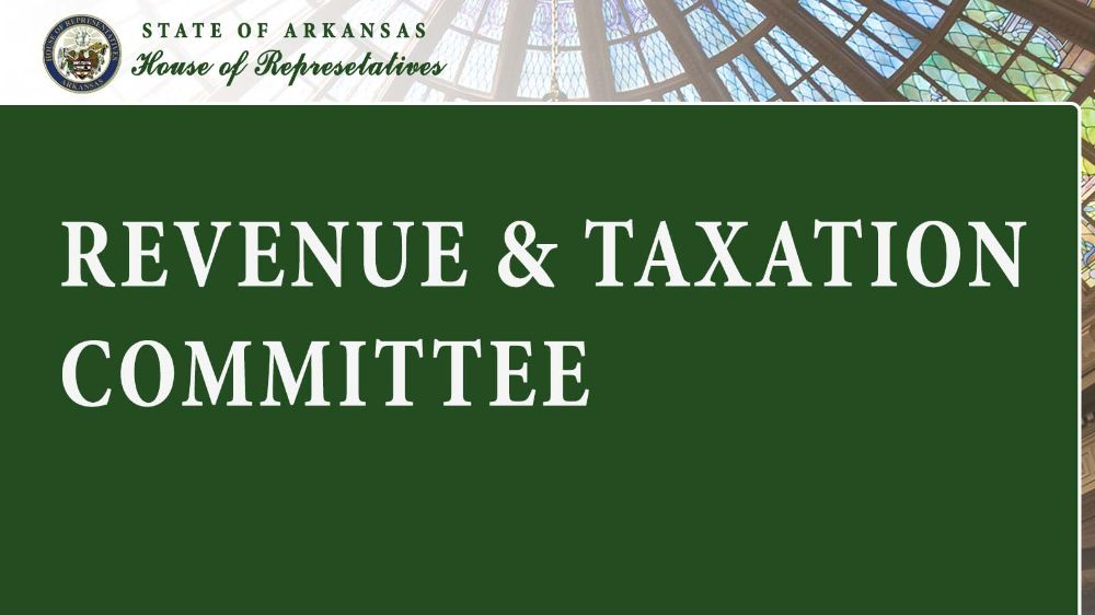 Revenue & Taxation  Committee