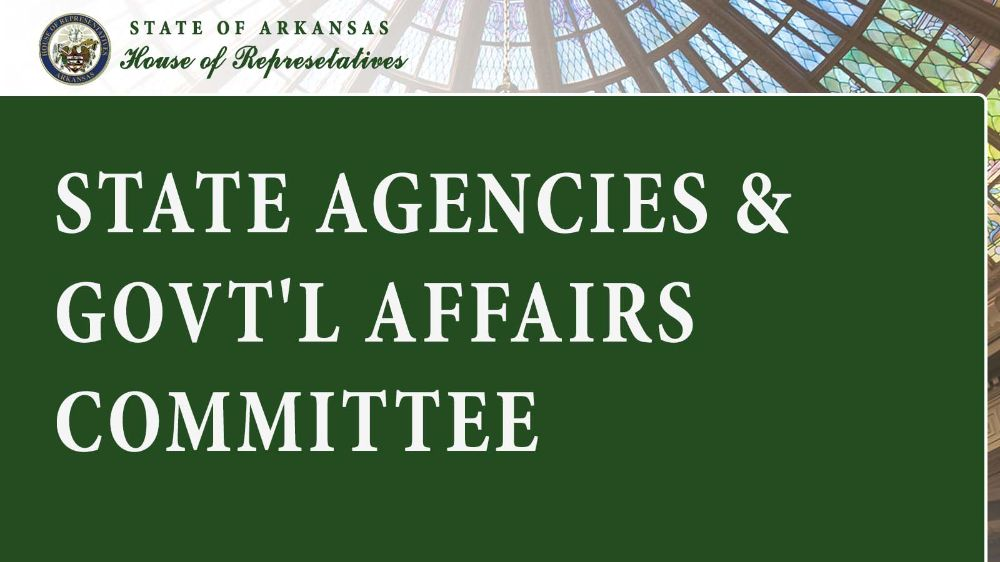 State Agencies & Govt'l Affairs Committee