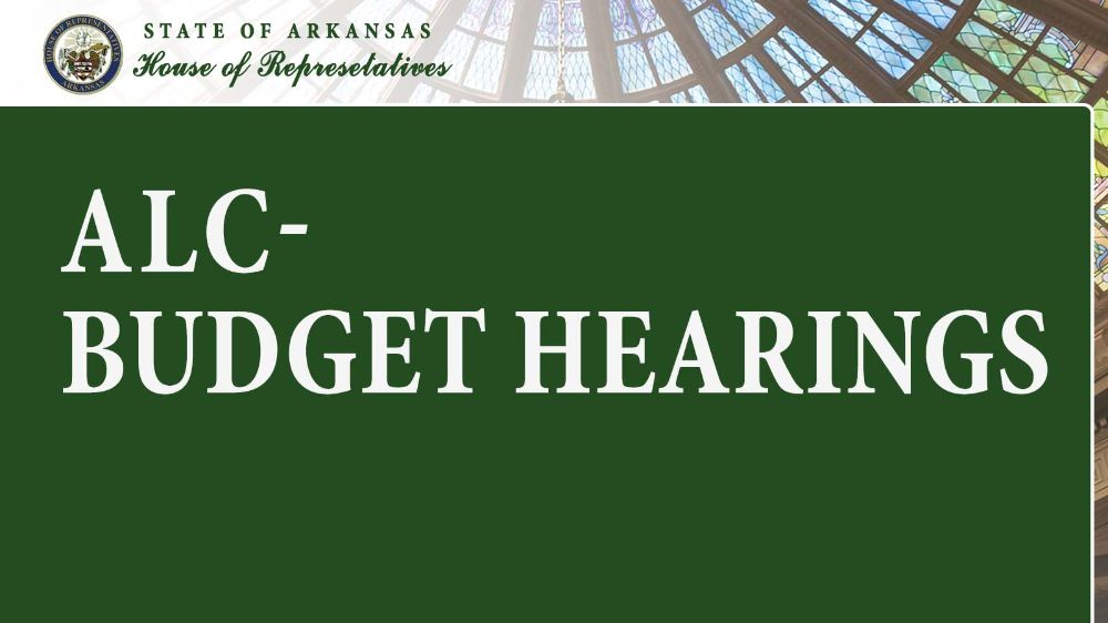 ALC - Budget Hearings