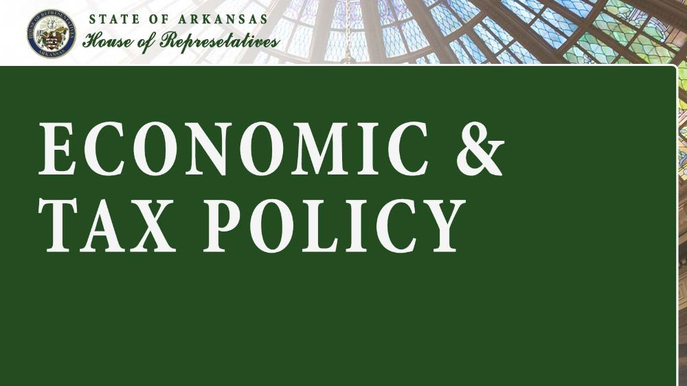 Economic and Tax Policy