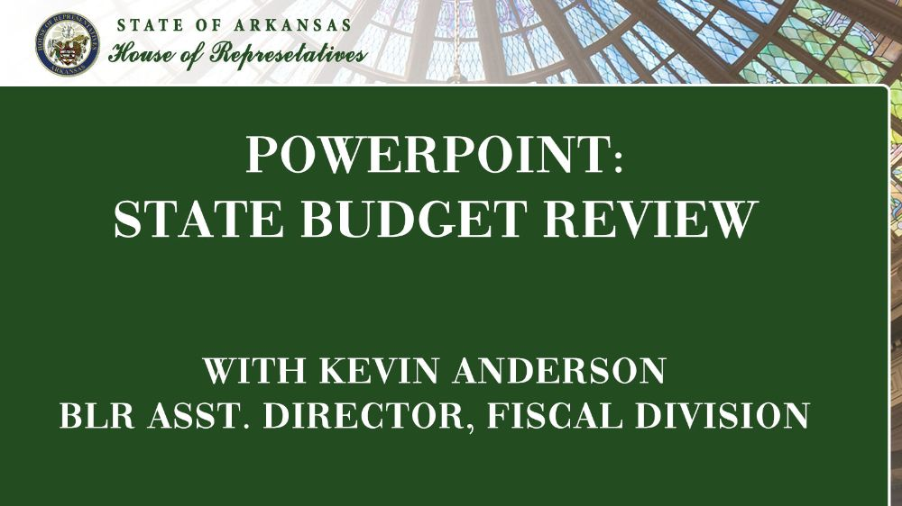 PowerPoint: State Budget Review