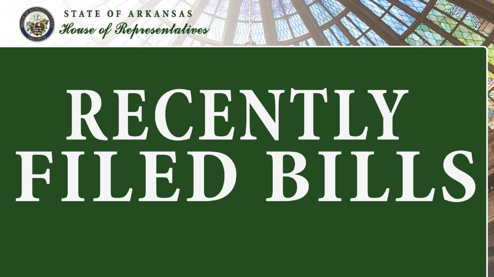 Search Bills: Recently Filed